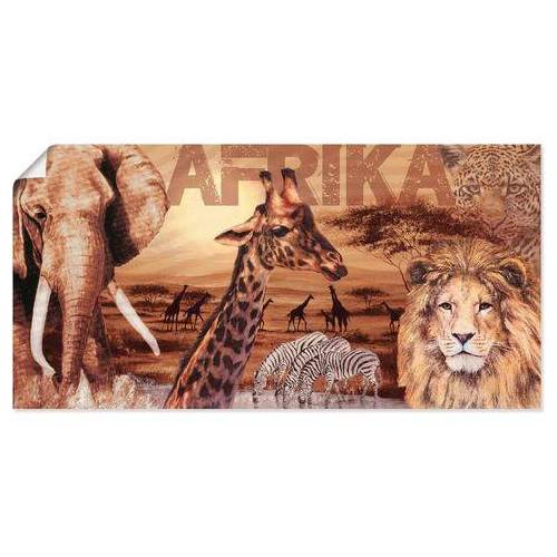 Artland artprint »Afrika«  - 19.99 - bruin