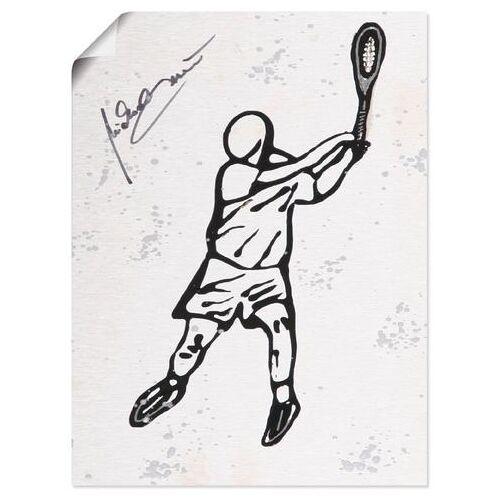 Artland artprint »Tennis«  - 20.99 - wit