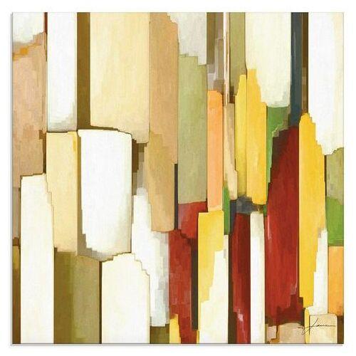 Artland print op glas »Monument III«  - 42.99 - beige