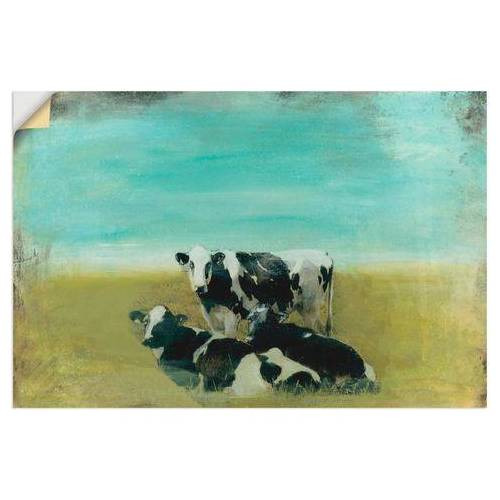 Artland artprint »Kühe auf der Weide III«  - 22.99 - groen