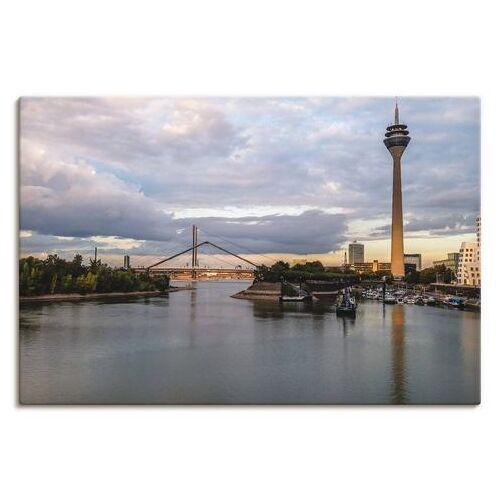 Artland artprint »Medienhafen Düsseldorf«  - 29.99 - blauw