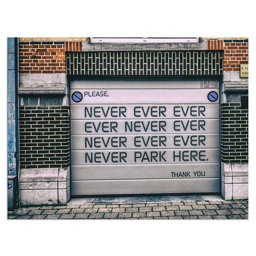 Artland artprint »Nicht Parken«  - 33.99 - wit