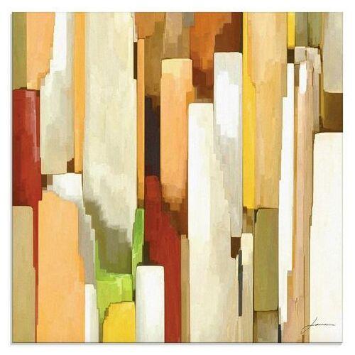 Artland print op glas »Monument I«  - 56.99 - beige