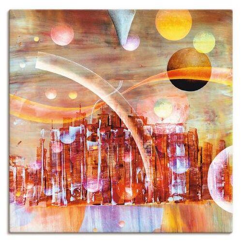 Artland artprint »Weltraumstadt 3000«  - 69.99 - rood