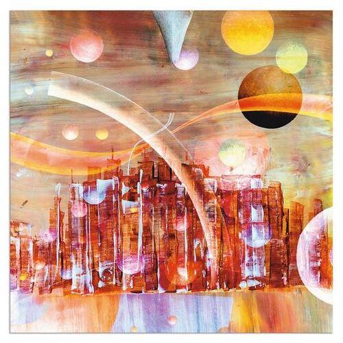 Artland artprint »Weltraumstadt 3000«  - 38.99 - rood