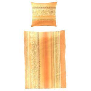 BIERBAUM Overtrekset  - 79.90 - oranje - Size: 2x135/200 cm;2x155/200 cm;2x155/220 cm