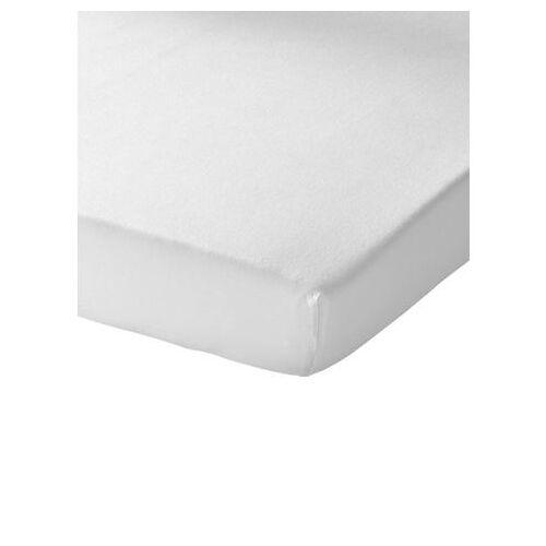 Schlafgut Hoeslaken  - 19.99 - wit - Size: ca. 120-130/200 cm, Hoeslaken;ca. 140-160/200 cm, Hoeslaken;ca. 180-200/200 cm, Hoeslaken;ca. 90-100/200 cm, Hoeslaken