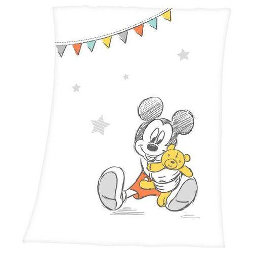 Disney Walt Disney babydeken »Disney´s Mickey Mouse«, Walt Disney  - 17.99 - wit - Size: 75x100 cm