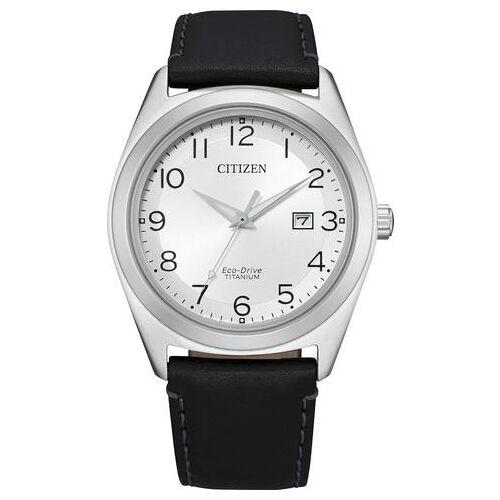 Citizen titanium horloge »super Titanium, AW1640-16A«  - 189.00 - zilver