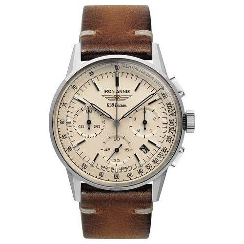 IRON ANNIE chronograaf »G38 Dessau, 5376-5«  - 279.00 - zilver
