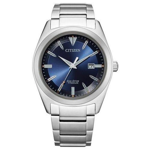 Citizen titanium horloge »Super Titanium, AW1640-83L«  - 199.00 - zilver