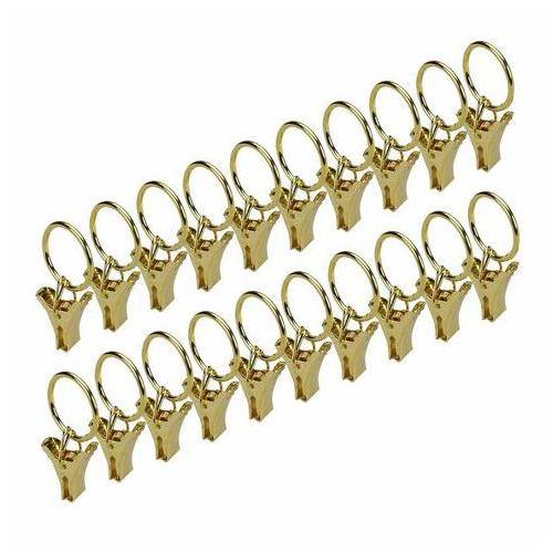 Liedeco ringklem voor spankoordset (set, 20 stuks)  - 8.95 - goud - Size: Ø 1,8 cm - 20 stuks
