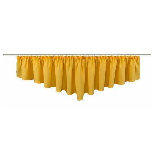 VHG sierstrook Gerti Linnen-look (1 stuk)  - 79.28 - geel - Size: hxb: 40x300 cm;hxb: 40x450 cm