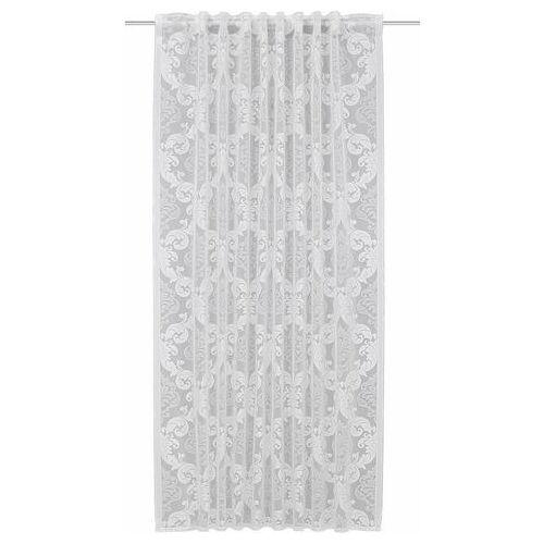 WILLKOMMEN ZUHAUSE by ALBANI GROUP gordijn Karlsruhe HxB: 245x140, sjaal met verborgen lus (1 stuk)  - 23.99 - beige - Size: hxb: 245x140 cm