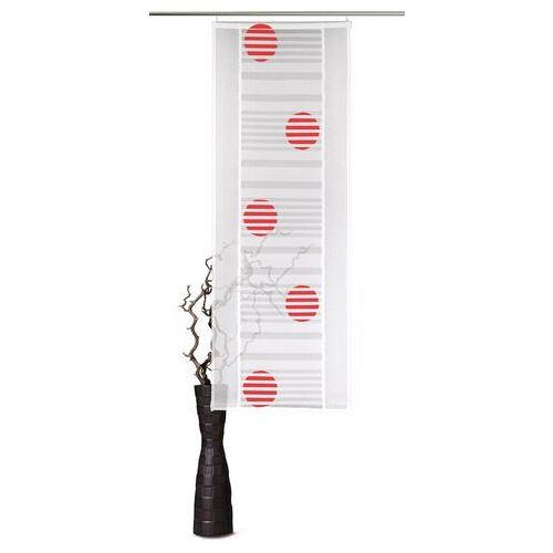 VHG Paneelgordijn, VHG, »Sunna« (per stuk met accessoires)  - 29.99 - rood - Size: H/B: 225/60 cm;H/B: 245/60 cm