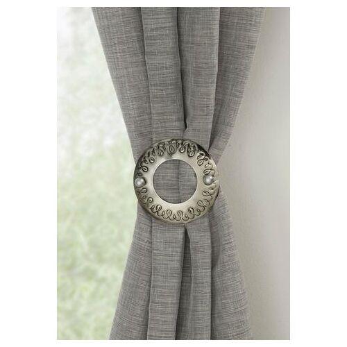 GARDINIA deco-klem »Dekospange Ring«  - 6.99 - zilver - Size: Ø 12 cm - per stuk