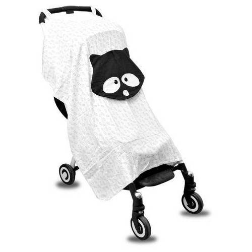 smarTrike® kinder-buggy toTs Bambus Buggy Sonnenschutz Waschbär  - 24.99