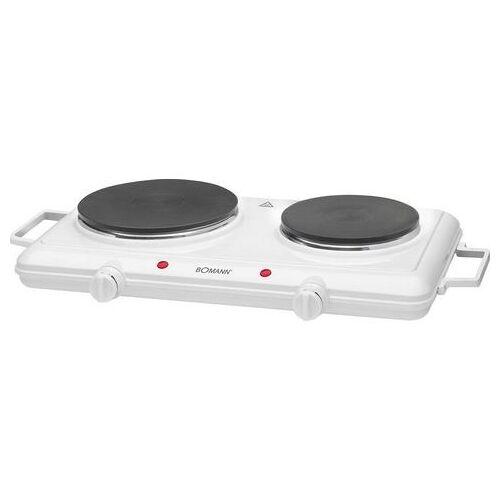 Bomann 2-pits kookplaat DKP 5028 CB, 2500 W  - 30.99 - wit