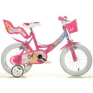 Dino kinderfiets, meisje, 14 & 16 inch, 1 versnelling, »Princess«  - 175.45 - roze - Size: framehoogte 25 cm