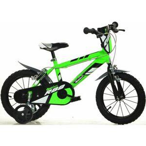 Dino mountainbike voor kinderen, 14 & 16 inch, 1 versnelling  - 151.08 - groen - Size: framehoogte 25 cm