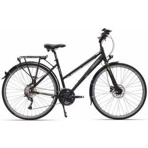 Hawk Bikes Hawk dames-trekkingfiets, 28 inch, Shimano Alivio, derailleur, 27 versnellingen, »Lady Disc One«  - 699.00 - zwart - Size: framehoogte 48 cm
