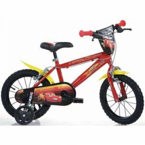 Dino kinderfiets, 16 inch, 1 versnelling, »Cars«