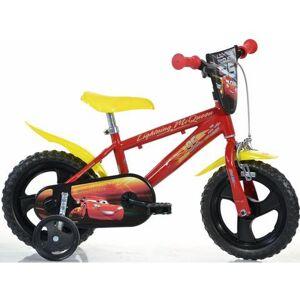 Dino kinderfiets, 12 inch, 1 versnelling, »Cars«  - 141.33 - rood - Size: framehoogte 22 cm