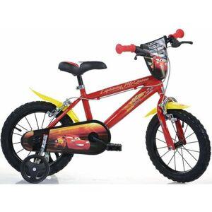 Dino kinderfiets, 14 inch, 1 versnelling, »Cars«  - 175.45 - rood - Size: framehoogte 25 cm
