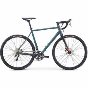 Fujifilm Bikes gravelbike »JARI 1.5«, Shimano Tiagra, 20 versnellingen, derailleur  - 1149.00 - groen - Size: framehoogte 49 cm;framehoogte 58 cm