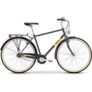 BREEZER Bikes trekkingfiets »DOWNTOWN 7+«, 7-versnellingen versnellingsnaaf  - 681.38 - grijs - Size: framehoogte 60 cm