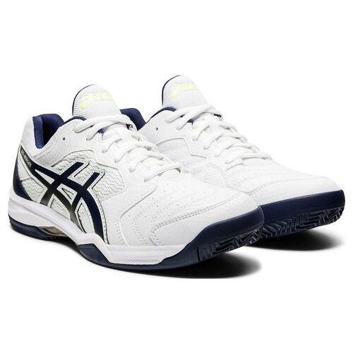 asics tennisschoenen »GEL-DEDICATE 6 CLAY«  - 54.99 - wit - Size: 41,5;42;42,5;43,5;45;46,5;47;48