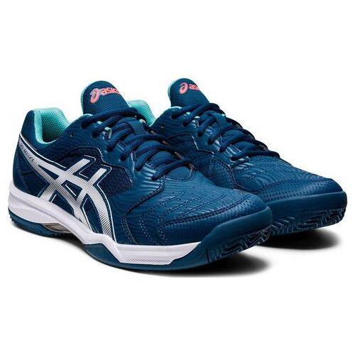 asics tennisschoenen »GEL-DEDICATE 6 CLAY«  - 54.99 - blauw - Size: 41,5;43,5;44;46,5
