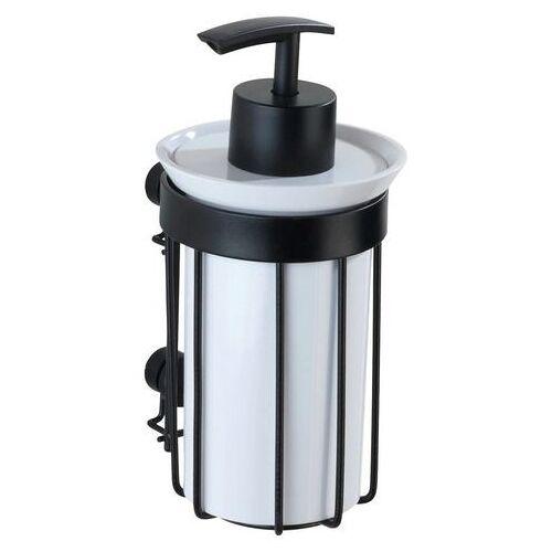 WENKO zeepdispenser Classic plus black 185 ml, met hoogwaardige roestbescherming  - 20.51 - zwart