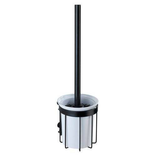 WENKO toiletset Classic plus black met hoogwaardige roestbescherming (1 stuk)  - 30.77 - zwart - Size: Large