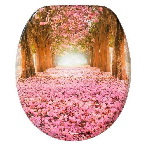 Sanilo toiletzitting Romantiek met soft-closemechanisme  - 49.99 - roze