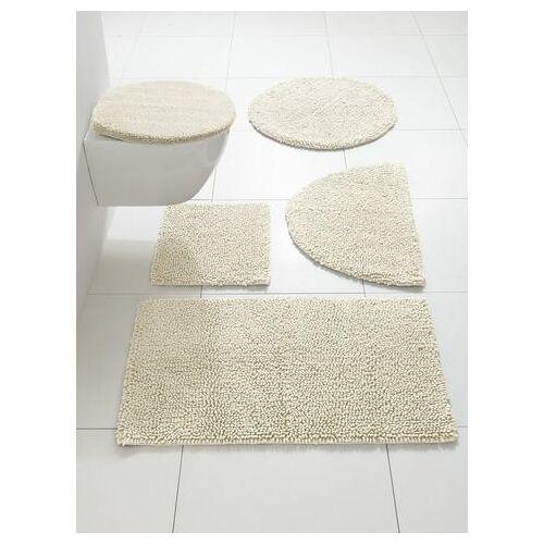 heine Badmat  - 14.99 - beige - Size: ca. 45/50 cm;ca. 50/80 cm, halfrond;ca. 50/90 cm;ca. 60/100 cm;ca. 70/110 cm;ca. 75 cm, rond;ca. 80/150 cm;ca. 90/160 cm;Set: toiletdekselovertrek ca.47/50cm+ca.45/50cm, met uitsparing;Set: toiletdekselovertrek ca.47/