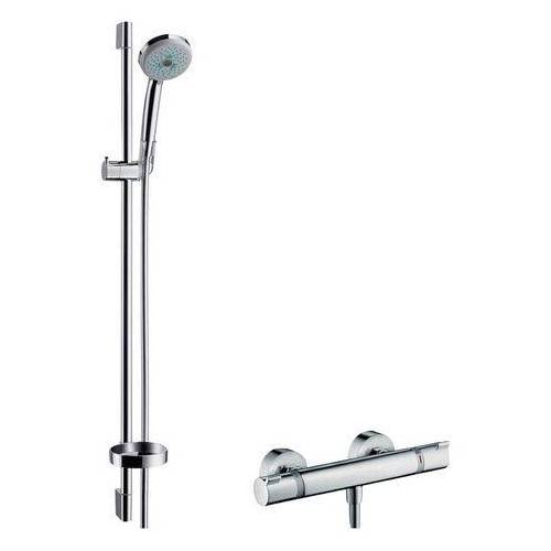 Hansgrohe Douchesysteem »Croma 100 Thermostat-Set«  - 319.99