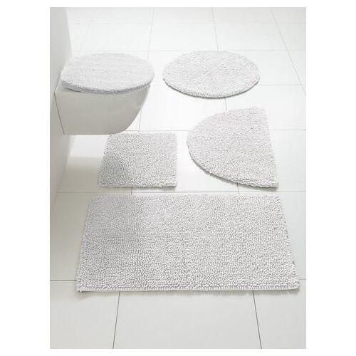 heine Badmat  - 14.99 - wit - Size: ca. 45/50 cm;ca. 50/80 cm, halfrond;ca. 50/90 cm;ca. 60/100 cm;ca. 70/110 cm;ca. 75 cm, rond;ca. 80/150 cm;ca. 90/160 cm;Set: toiletdekselovertrek ca.47/50cm+ca.45/50cm, m. uitsparing;Set: toiletdekselovertrek ca.47/50c