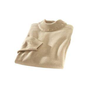 Classic Basics trui met staande kraag  - 23.00 - beige - Size: 46;48;50;52;54;56;58;60;62