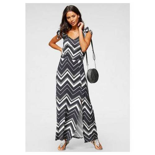 Scott Laura Scott maxi-jurk met linten  - 39.99 - blauw - Size: 34;36;38;40;42;44;46