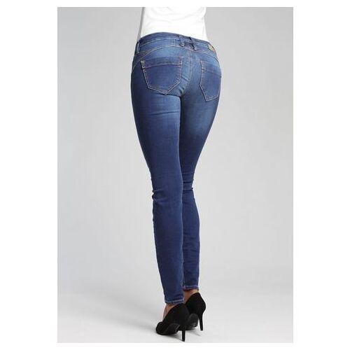 GANG skinny fit jeans Nena met used-effecten  - 109.95 - blauw - Size: 26;27;28;29;30;31;32;33
