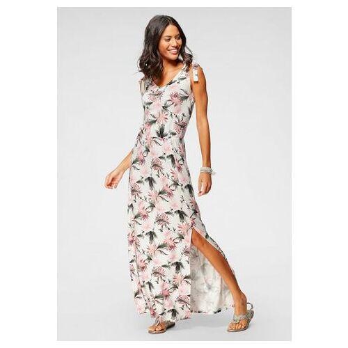Scott Laura Scott maxi-jurk met linten  - 39.99 - roze - Size: 38;40;42;44