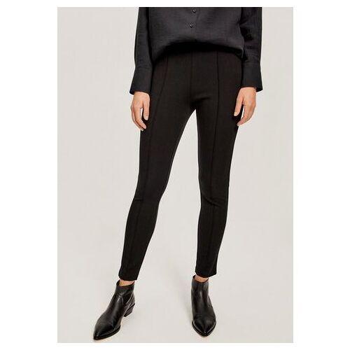 OPUS stretchbroek Elika met decoratieve naadlijn  - 45.99 - zwart - Size: 34;36;40