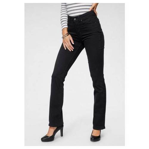 LEVI'S bootcut jeans »725 High-Rise Bootcut«  - 79.99 - zwart - Size: 25;26;27;28;29;30;31;32