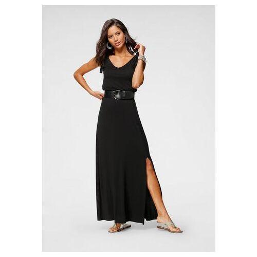 Scott Laura Scott maxi-jurk met linten  - 39.99 - zwart - Size: 34;36;38;40