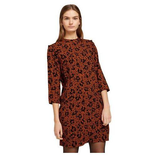 TOM TAILOR Denim blousejurk  - 49.99 - oranje - Size: Extra Small