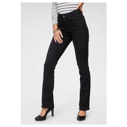LEVI'S bootcut jeans »725 High-Rise Bootcut«  - 99.95 - zwart - Size: 25;26;27;28;29;30;31;32