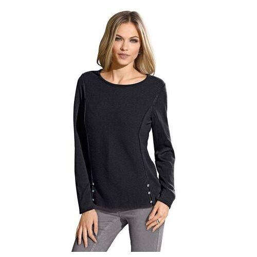 Ambria trui met zijsplitten  - 34.99 - zwart - Size: 36;38;40;42;44;46;48;50;52