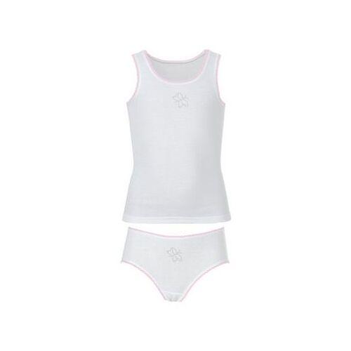 TRIGEMA Meisjes ondergoedset  - 30.00 - wit - Size: 104;116;128;140;152