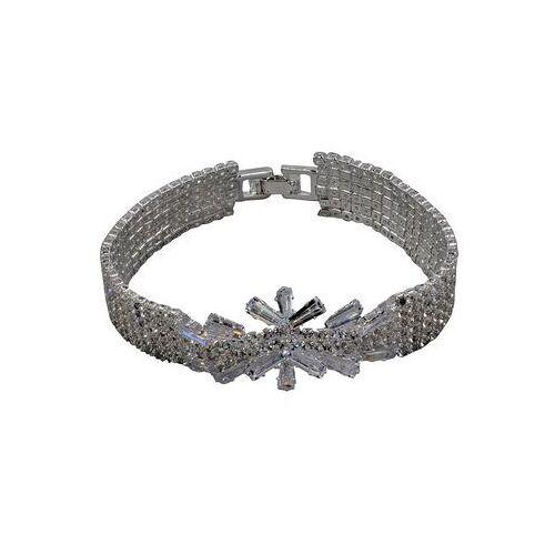 J.Jayz armband Elegant, glamoureus met glassteentjes  - 16.06 - zilver